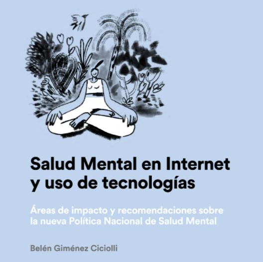 White Paper: Salud Mental en Internet y uso de tecnologías